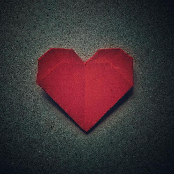 你折的一颗红心