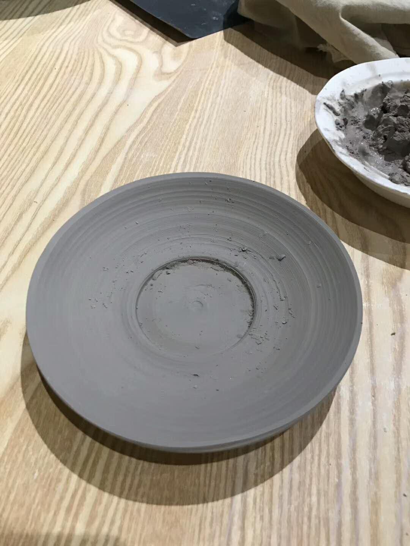 做了一个超级丑的盘子